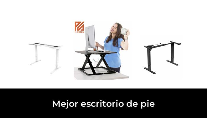 altura ajustable Stand Up Colgante Escritorio para computadora port/átil Computadora para sentarse Escritorio de pie Estaci/ón de trabajo para computadora Oficina Nogal oscuro Escritorio de pie m/óvil